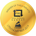 SBS Winner Badge Small Gold