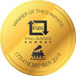 SBS Winner Badge Small Gold