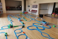 Trainmaster giant layout of track