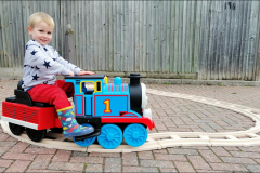 Thomas ride on train