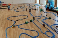 Trainmaster birthday parties layout